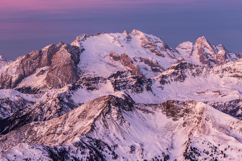 Zima w Dolomitach