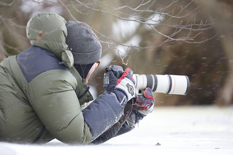 kurtka dla fotografa