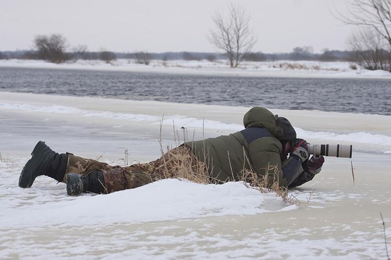 zimowe buty dla fotografa